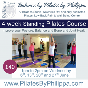 Standing Pilates 6th June