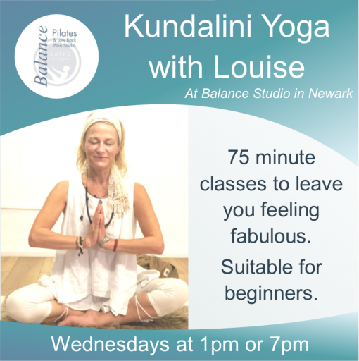 Kundalini Yoga - daytime or evening - Balance by Pilates by