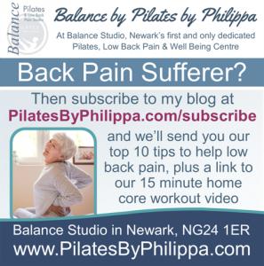 newsletter signup - back pain