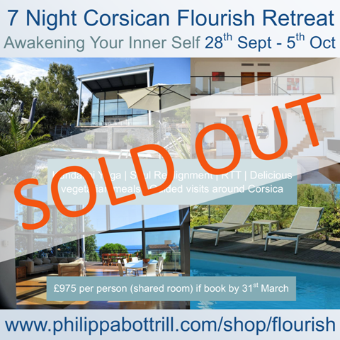 SOLD OUT 7 Night Flourish Retreat at Villa Luiggi, Marine de Davia, Corsica