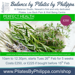Perfect Health 5 week course