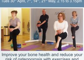 Improve your Bone Health 4 Week Course