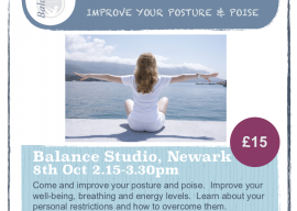 Stand Up Straighter – improve your posture and poise