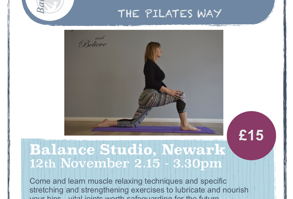 Happy Hips the Pilates Way with Pippa